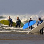 Killavil House Surfing in Bundoran Co Donegal